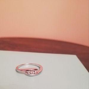 10K Diamond Ring. Size 6